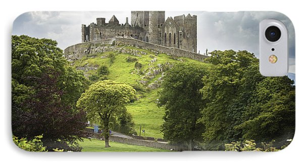 Rock Of Cashel Cashel County Tipperary IPhone Case by Patrick Swan