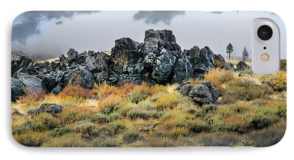 IPhone Case featuring the photograph Rock Outcrop by Frank Wilson