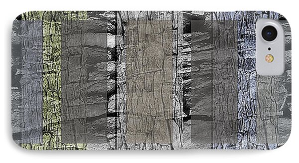 Rock Panels - Abstract IPhone Case by Steve Ohlsen
