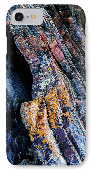 IPhone Case featuring the photograph Rock Pattern Sc01 by Werner Padarin