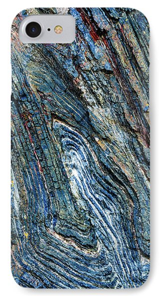 IPhone Case featuring the photograph Rock Pattern Sc03 by Werner Padarin