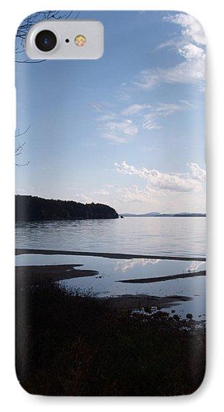 Rock Point North View Vertical IPhone Case by Felipe Adan Lerma