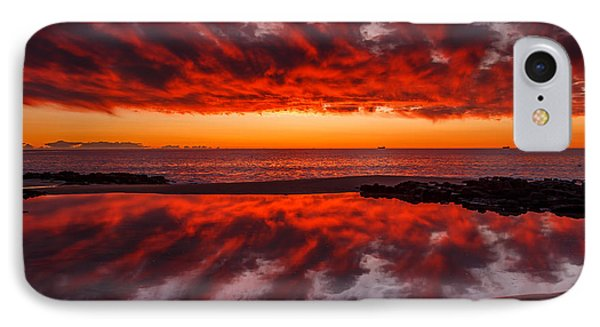 Rock Pool Reflections IPhone Case