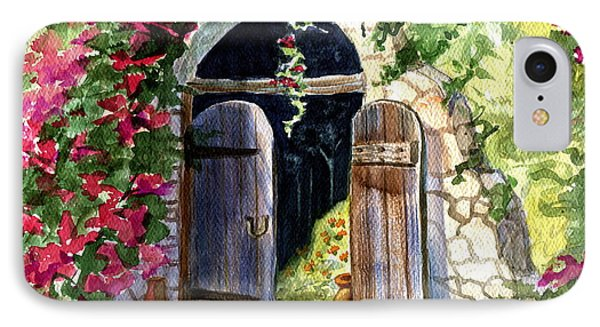 Rock Springs Gate IPhone Case by Marilyn Smith