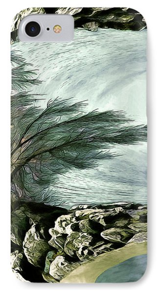 IPhone Case featuring the photograph Rock Tunnel by Pennie  McCracken