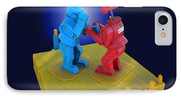 Rockem Sockem Robots Toy IPhone Case
