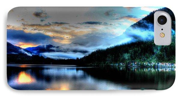 Rockie Mountain Mist IPhone Case