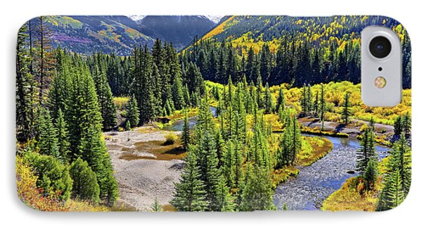 Rockies And Aspens - Colorful Colorado - Telluride Phone Case by Jason Politte