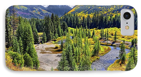 Rockies And Aspens - Colorful Colorado - Telluride IPhone Case
