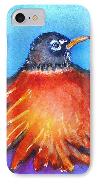 IPhone Case featuring the painting Rockin Robin by Patricia Piffath