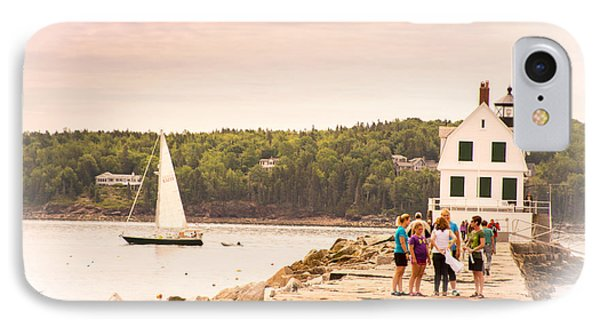 Rockland Breakwater IPhone Case by Paul Miller