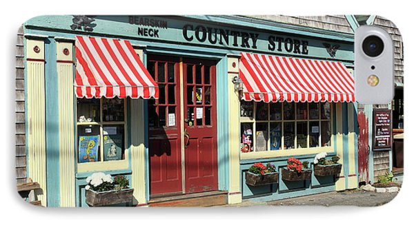 Rockport Country Store IPhone Case by Lou Ford