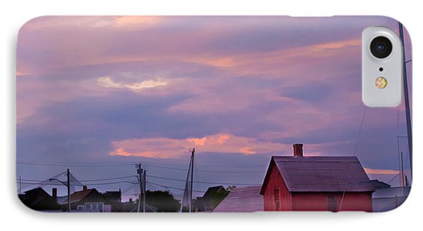 IPhone Case featuring the photograph Rockport Sunset Over Motif #1 by Jeff Folger