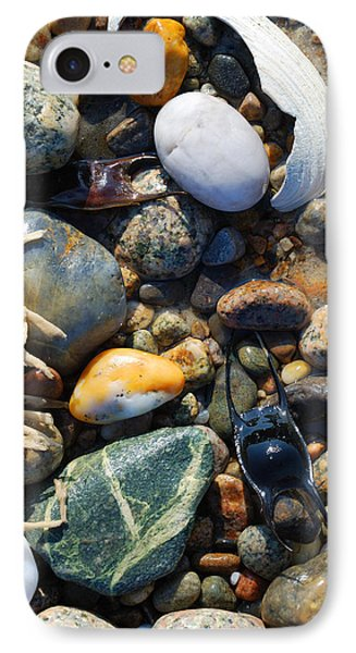Rocks And Shells Phone Case by Charles Harden