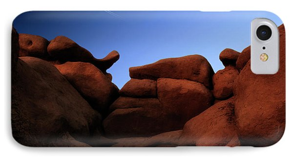 Rocks And Sky At Goblin Valley  Utah IPhone Case