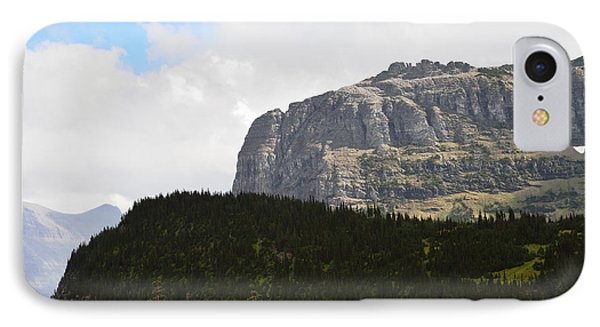 IPhone Case featuring the photograph Rocks Clouds And Trees by Kae Cheatham