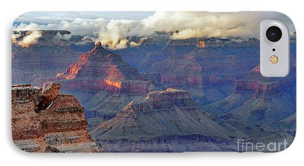 Rocks Fall Into Place IPhone Case by Debby Pueschel