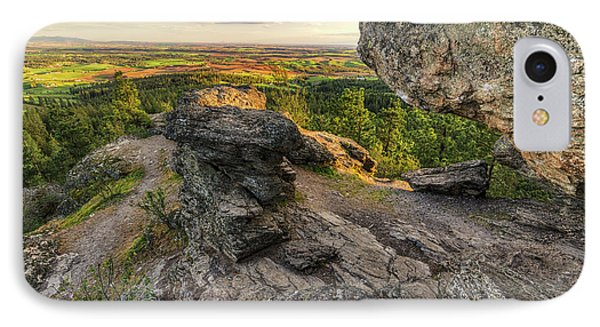 Rocks Of Sharon Overlook IPhone Case by Mark Kiver