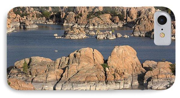 Rocks Of Watson Lake  IPhone Case