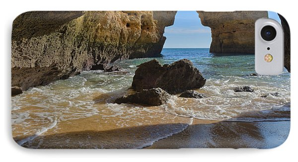 Rocky Arch In Albandeira Beach IPhone Case by Angelo DeVal
