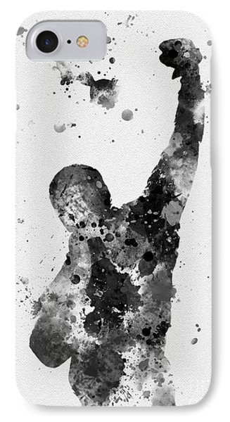 Rocky Balboa IPhone Case by Rebecca Jenkins
