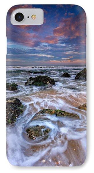 Rocky Beach At Sandy Hook IPhone Case