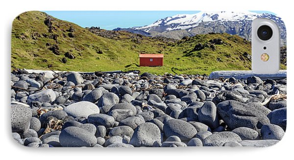 IPhone Case featuring the photograph Rocky Beach Iceland by Edward Fielding