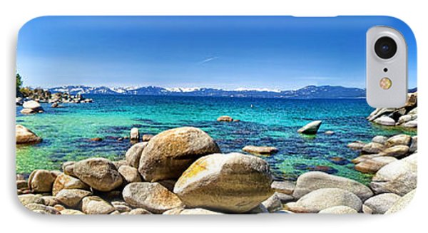 IPhone Case featuring the photograph Rocky Cove Sand Harbor by Jason Abando