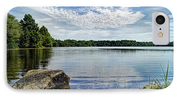 Rocky Fork Lake IPhone Case