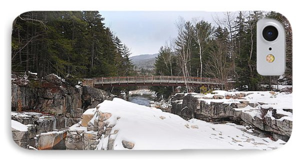 Rocky Gorge, Winter  IPhone Case by Catherine Reusch Daley