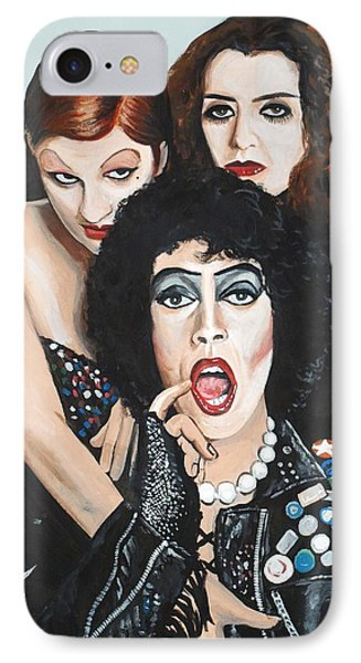 Rocky Horror Picture Show Phone Case by Tom Carlton