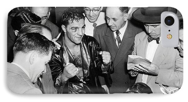 Rocky Marciano (1924-1969) Phone Case by Granger