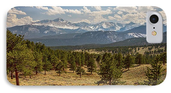 IPhone Case featuring the photograph Rocky Mountain Afternoon High by James BO Insogna