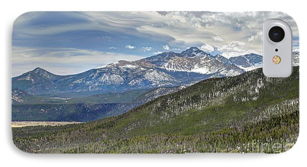IPhone Case featuring the photograph Rocky Mountain Cloudscape by Martin Konopacki
