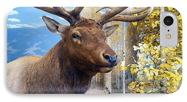 Rocky Mountain Elk IPhone Case by Karon Melillo DeVega