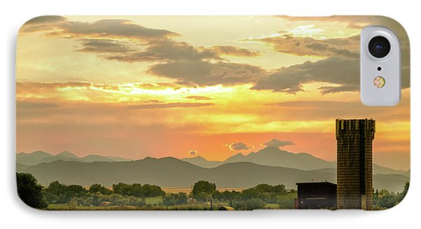 IPhone Case featuring the photograph Rocky Mountain Front Range Country Landscape by James BO Insogna