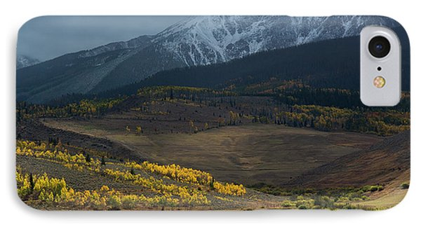 IPhone 7 Case featuring the photograph Rocky Mountain Horses by Aaron Spong