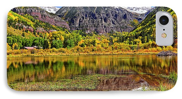 IPhone Case featuring the photograph Rocky Mountain Reflections - Telluride - Colorado by Jason Politte