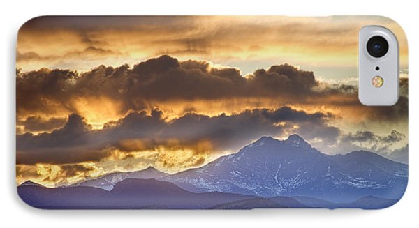Rocky Mountain Springtime Sunset 3 Phone Case by James BO  Insogna