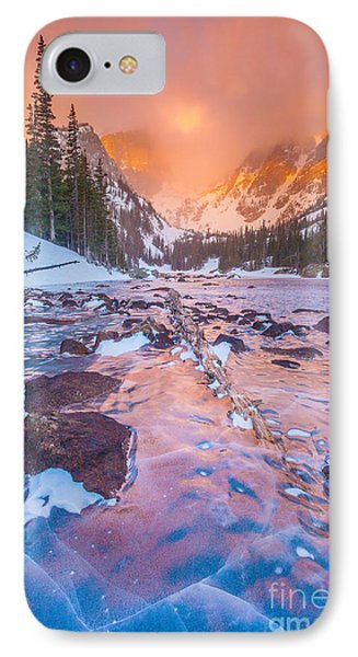 Rocky Mountain Sunrise IPhone Case by Steven Reed