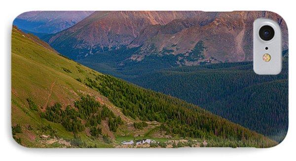 Rocky Mountain Wilderness IPhone Case by Darren  White