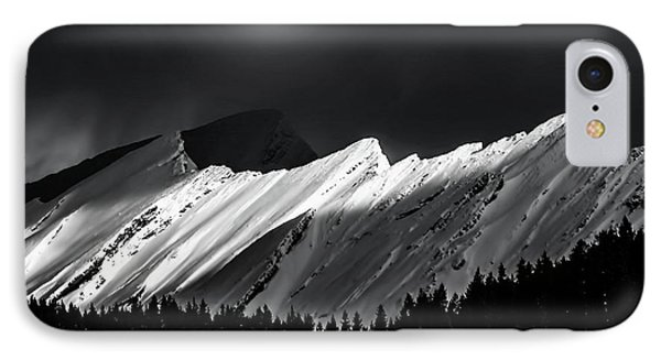 Rocky Mountains In Moonlight IPhone Case by Elaine Hunter