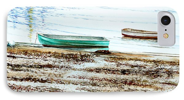 Rocky Neck Runabout Skiff IPhone Case