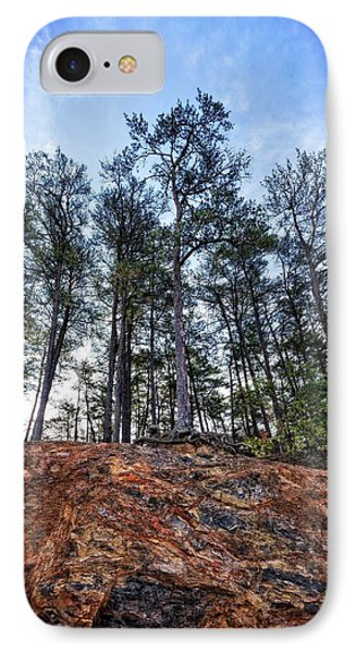 IPhone Case featuring the photograph Rocky Pines by Alan Raasch