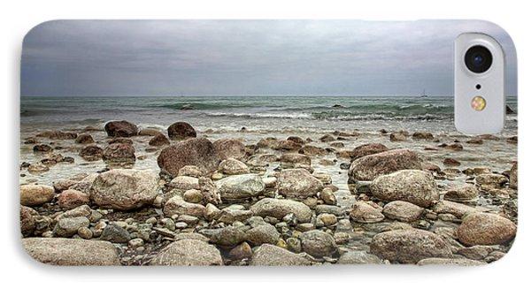 Rocky Shore IPhone Case by Stefan Nielsen