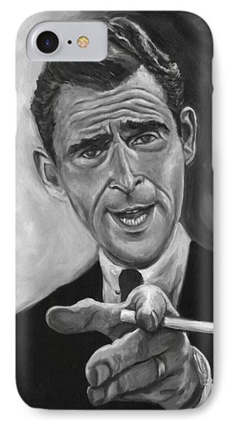 Rod Serling IPhone Case