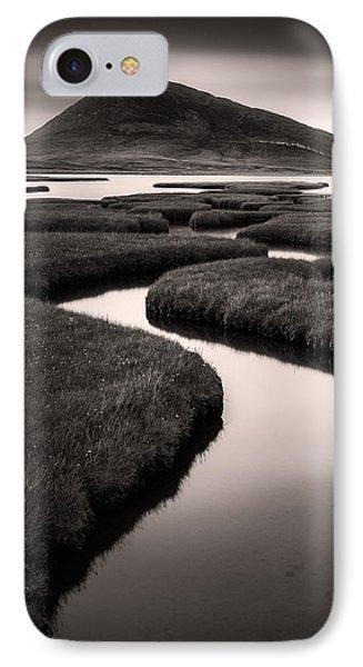 Northton Saltmarsh IPhone Case by Dave Bowman