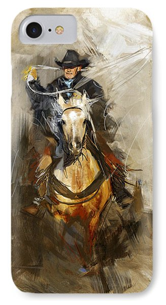 Rodeo 12 IPhone Case by Maryam Mughal
