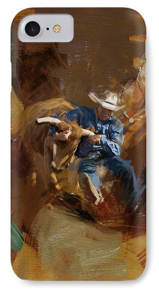 Rodeo 17 IPhone Case by Maryam Mughal