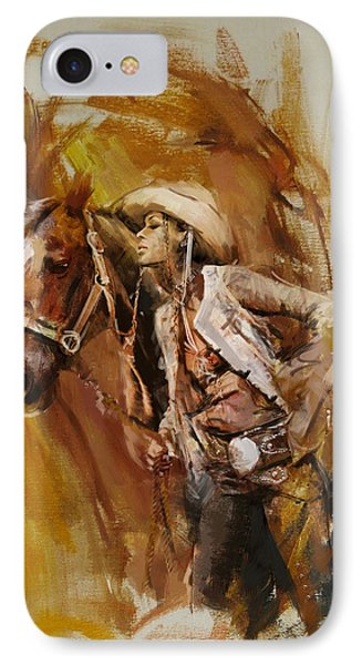 Rodeo 21 IPhone Case by Maryam Mughal
